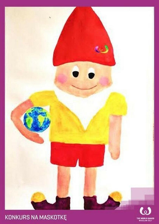 Konkurs na maskotkę na World Games 2017: krasnoludek