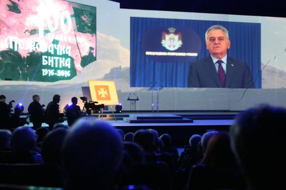 Predsednik Srbije Tomislav Nikolić obratio se video porukom