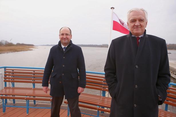 Adam Bielan i Jarosław Gowin
