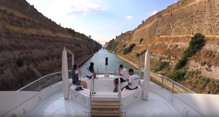 Brod kanal