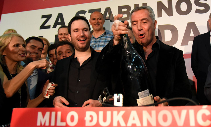 Milo Đukanović EPA