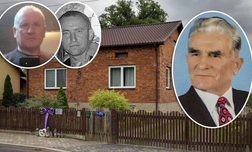 Poszukiwania Jacka Jaworka (52l.) który zabił młodszego brata Janusza (†44l.) Do konfliktu doszło z powodu domu, którego zmarły ojciec  Stanisława Jaworek nie podzielił między dzieci.