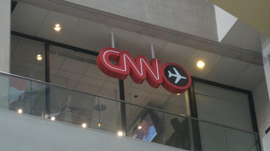 Newsroom CNN Airport w centrali CNN w Atlancie