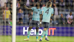 Kelechi Iheanacho was one the scoresheet in Leicester Coty's win on Wednesday (Leicester City)