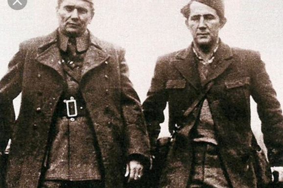 Tito i Milovan Đilas