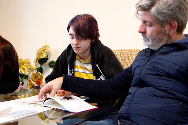 Rafaela Domingos sa ocem Horheom