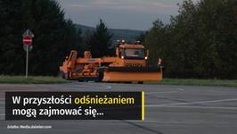 Autonomiczne pługi śnieżne Daimlera