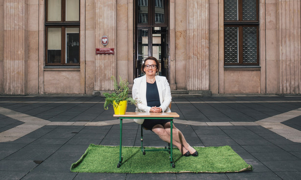 Anna Zalewska, minister edukacji narodowej fot. Maksymilian Rigamonti