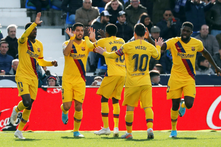 FK Barselona, FK Leganes