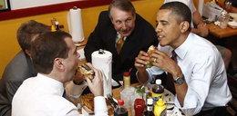 Obama i Miedwiediew. Hamburgerowy szczyt