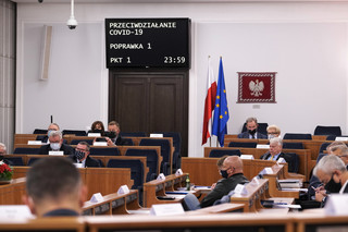 Senat za poprawkami do tzw. ustawy covidowej