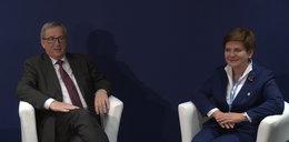 Juncker wita Szydło, ale to nie ona zbiera pochwały
