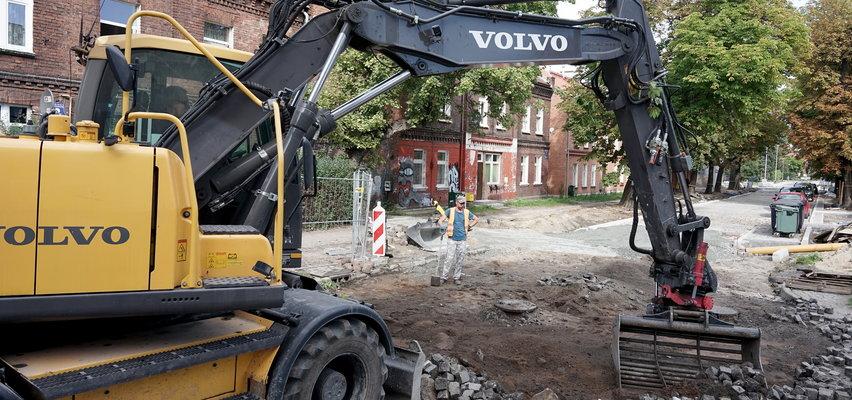 Zmiany w Nowym Porcie. Ruszyły przebudowy ulic