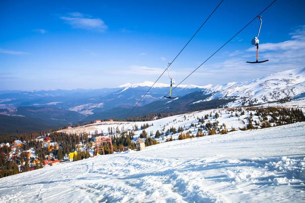 """Sławsko Ukraińskie Sławsko przed wojną było nazywane """"Zakopanem Bieszczadów Wschodnich"""", piękne tereny, niedaleko od Lwowa przyciągały narciarzy. Konkurencję stanowiła tylko Worochta, dalej położona od Lwowa (około 250 km), z wyższymi stokami dla wytrawnych narciarzy."""