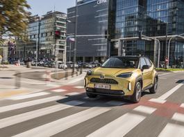 Toyota Yaris Cross – nie tylko do miasta