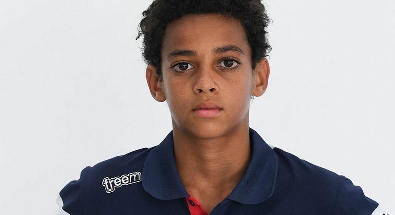 13-year-old Ugo Ugochukwu, a car racer of Nigerian descent has been signed by McLaren  (Instagram/Ugo Ugochukwu)