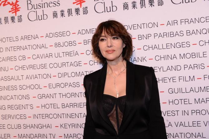 Monika Beluči početkom marta u Parizu