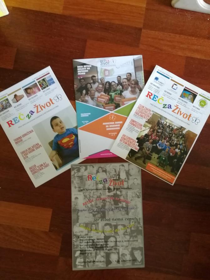 Časopis doprinosi širenju mreže ljudi kojih se tiču retke bolesti. Besplatno se distribuira širom Balkana u bolnicama, klinikama, domovima i ministarstvima zdravlja, RFZO, apotekama, institutima javnog zdravlja...