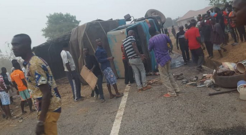 Oti Region: Nine killed in Kete Krachi road accident