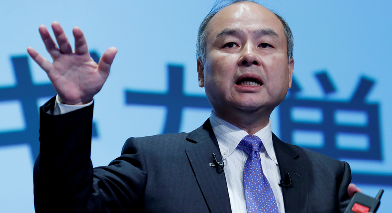 Masayoshi Son is the billionaire founder and CEO of Japanese holding company SoftBank.