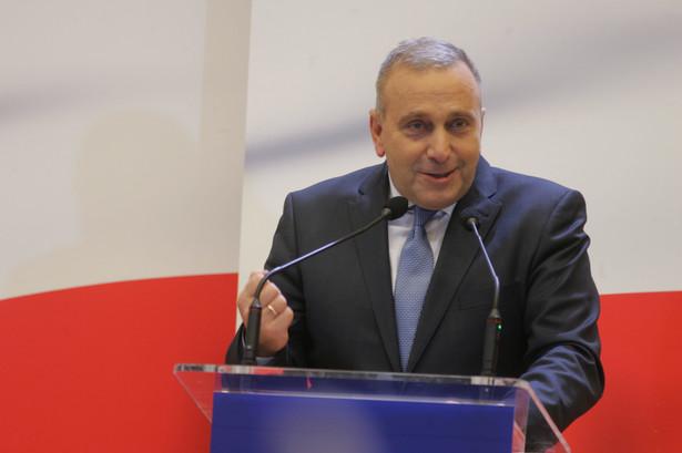 Grzegorz Schetyna mówił, że proces rozliczenia władz Platformy miał się odbyć już rok temu, po wyjeździe Donalda Tuska do Brukseli