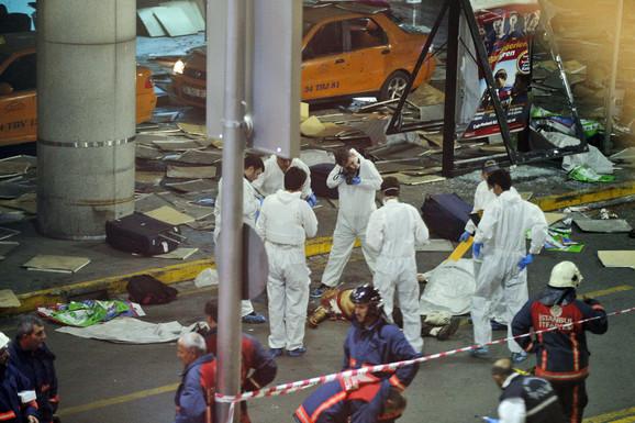 Neposredno posle terorističkog napada na aerodromu u Istanbulu