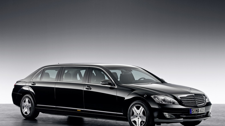 The W221 Mercedes-Benz S600 Pullman Guard was introduced for the 2008 model year.