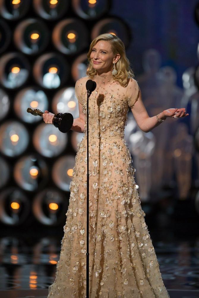 Kejt Blančet na dodeli Oskara 2014.
