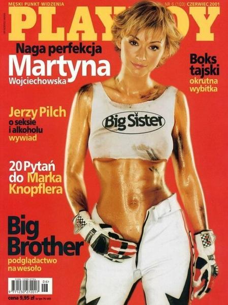 """Martyna Wojciechowska na okładce """"Playboya"""""""