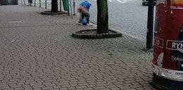 Zgorszenie w Nowym Targu. Kucnął i wypróżnił się na środku miasta