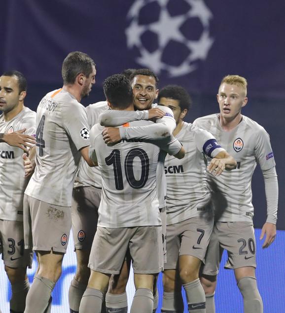 FK Dinamo Zagreb, FK Šahtjor