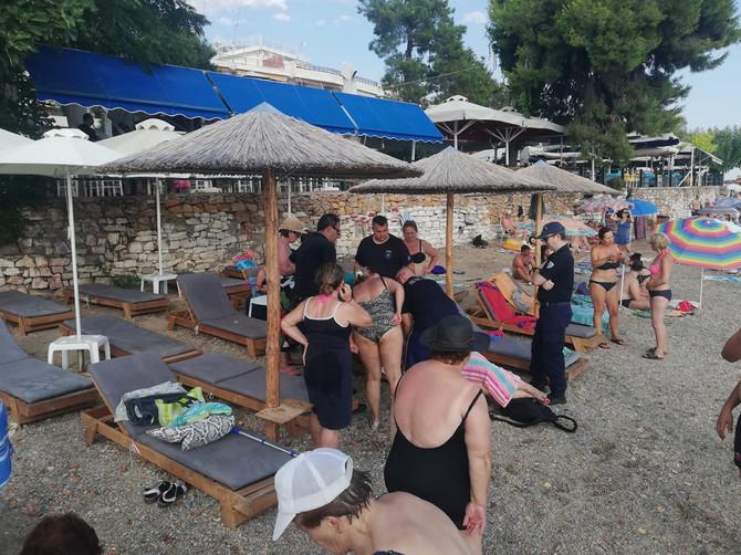 Danas se na Eviji desila PRAVA DRAMA: Cela plaža bila je u panici zbog starije žene, a onda je VESNA IZ KRAGUJEVCA postala heroj dana!