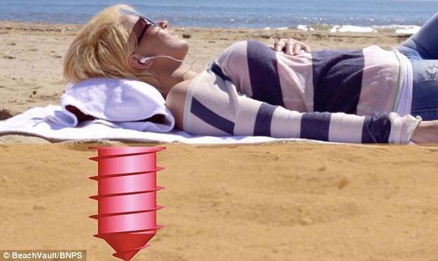 Oto bezpieczna plażowa skrytka