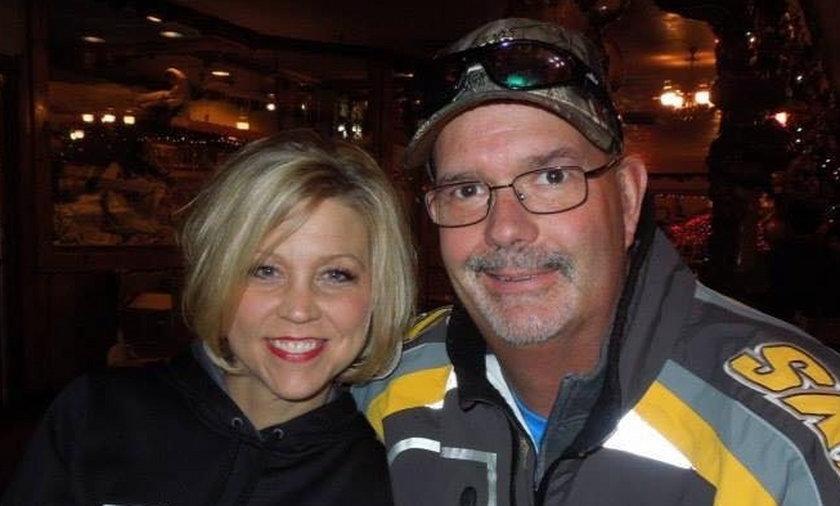 Shelly Golay z mężem