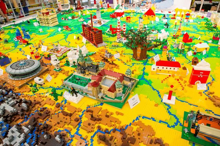 Mapa Polsku Z Klocków Lego