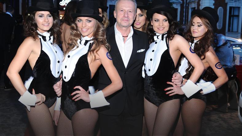 Plejada gwiazd na imprezie Playboya - Kobieta