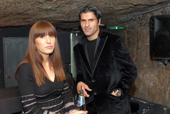 Nenad Jestrović sa bivšom suprugom Tamarom