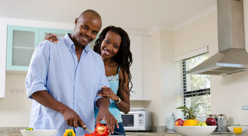 When the husband has no job, who should do the household chores?