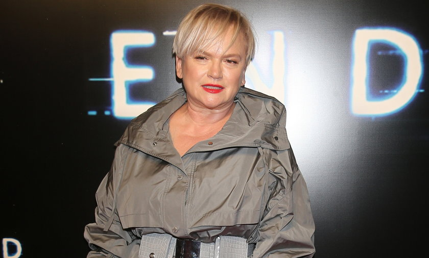 """Katarzyna Figura zagrała ostatnio epizodyczną rolę w filmie """"The End"""", który niedawno miał swoją premierę."""