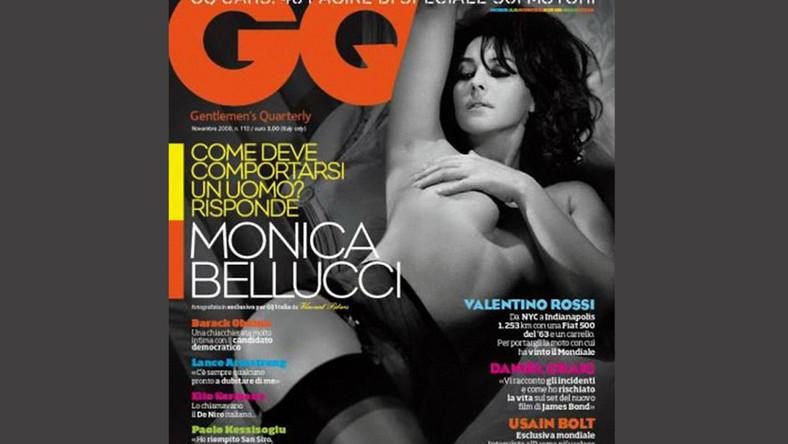 Monica Belucci znowu pozuje nago