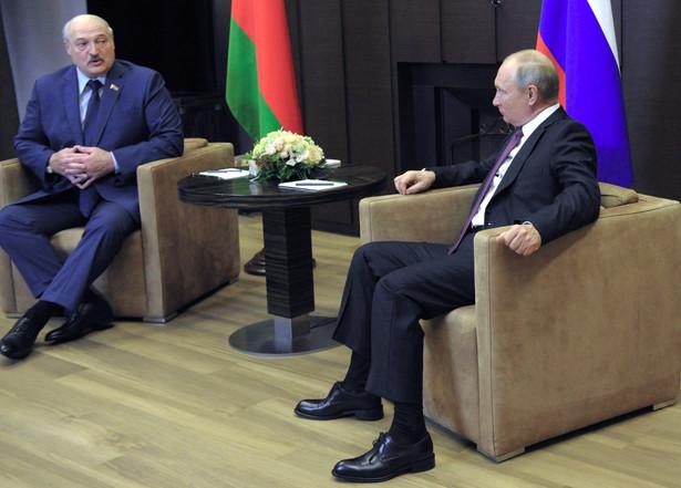 Łukaszenka i Putin