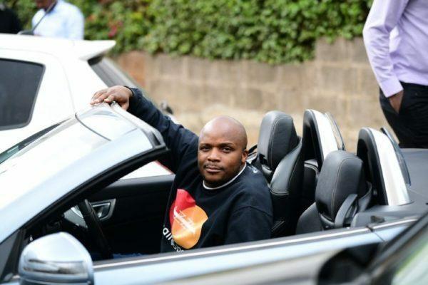 Ready for Safari Rally - Jalang'o shows off convertible Mercedes Benz    Pulselive Kenya