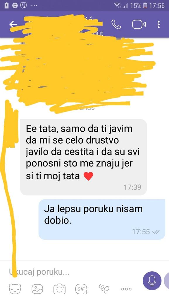 Poruka koju je ćerka poslala ocu, poznatom kragjevačkom lekaru