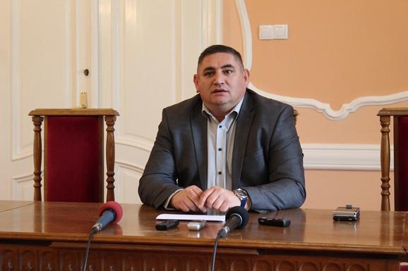 Predsednik Opštine Ruma Slađan Mančić