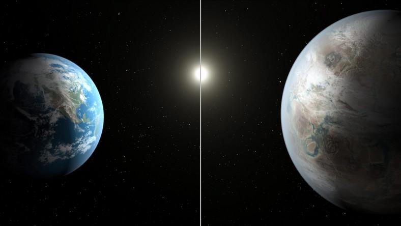 Kepler-452b jest starszy od naszej planety, a dodatkowo większy od niej o ponad połowę. Rok na tej planecie trwa 385 dni.