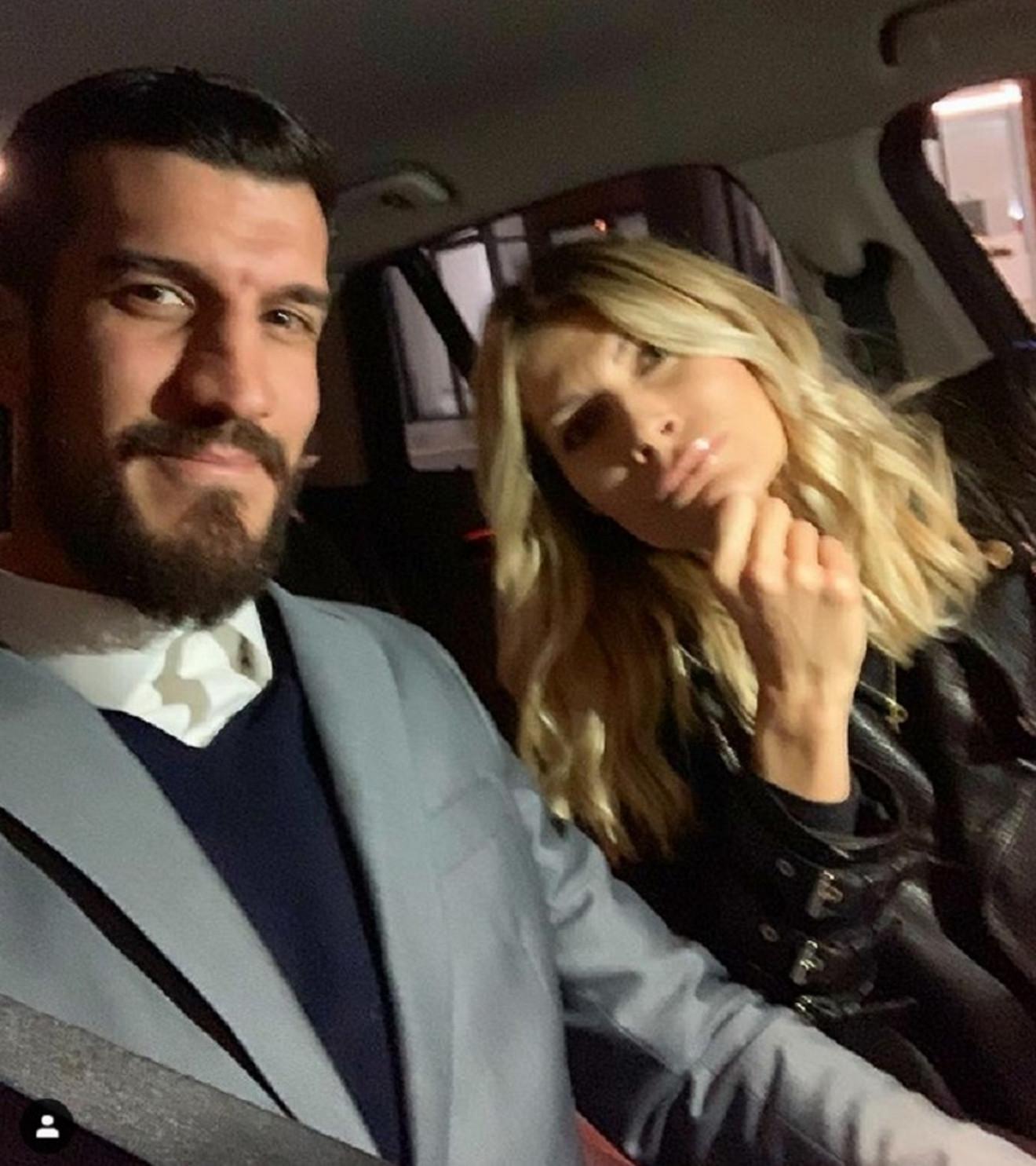 Marko Kešelj sa suprugom