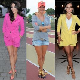Gwiazdy w szortach. Która ma najzgrabniejsze nogi?