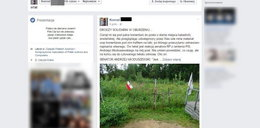 Kamień smoleński zbrukany w Rosji! Aż żal patrzeć