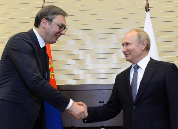 Vucic Putin 05 foto Tanjug Predsednistvo Srbije