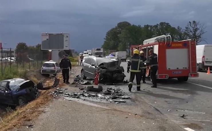 Stravična saobraćajna nesreća na Ibarskoj